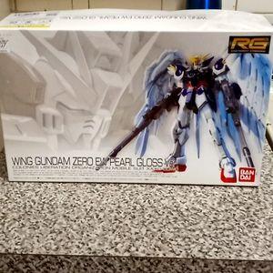 Bandai wing Gundam zero ew pearl gloss ver.